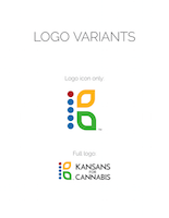 Kansans for Cannabis logo presentation, page 5
