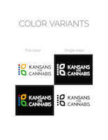 Kansans for Cannabis logo presentation, page 6
