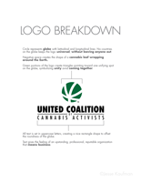 United Coalition of Cannabis Activists logo presentation, page 2