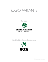 United Coalition of Cannabis Activists logo presentation, page 5