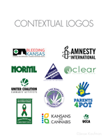 United Coalition of Cannabis Activists logo presentation, page 8