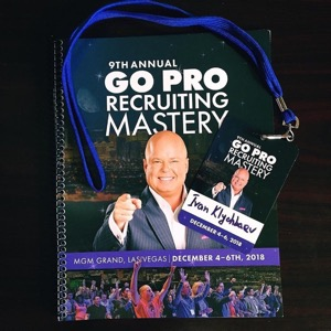 9th Annual Go Pro Recruiting Mastery workbook