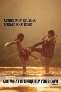 Absorb What is Useful — Bruce Lee poster