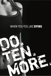 When You Feel Like Dying, Do Ten More poster